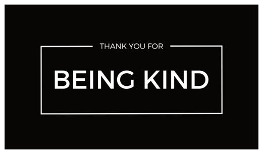 Thank You For Being Kind (30 pack) - kindmarket