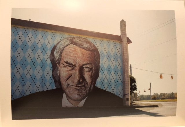 Dean Smith Mural Photographic Print