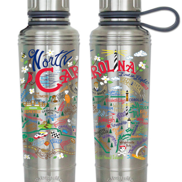 North Carolina Thermal Water Bottle