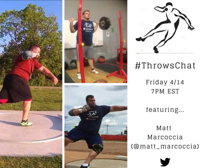 #ThrowsChat Recap 2: Successful Collegiate Throwing Featuring Matt Marcoccia