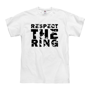 Respect the Ring Tee - Throws Chat - Product