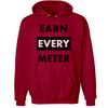 Earn Every Meter Hoodie - Throws Chat - Product