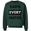 Earn Every Meter Crewneck - Throws Chat - Product