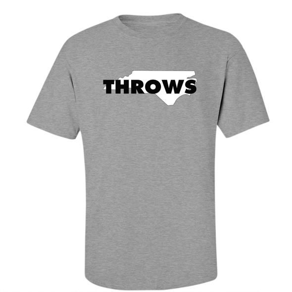 North Carolina Throws Tee - Throws Chat - Product