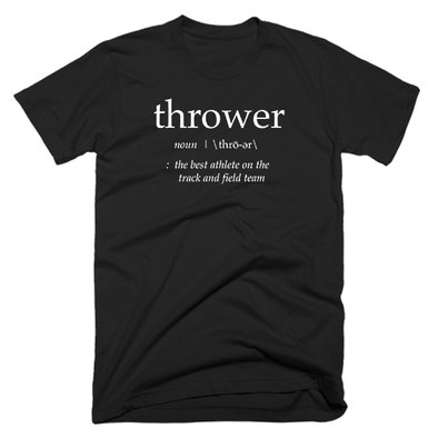 Definition of a Thrower v3 (Black) - Throws Chat - Product