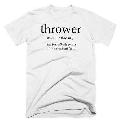 'Definition of a Thrower' v3 - Throws Chat - Product