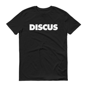 Discus Tee - Throws Chat - Product