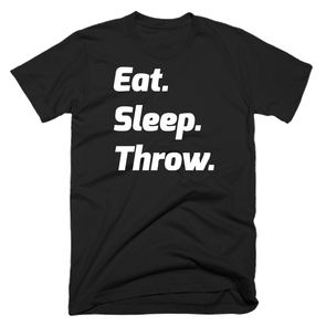 Eat. Sleep. Throw. - Throws Chat - Product