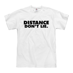 """Distance Don't Lie"" Tee - Throws Chat - Product"