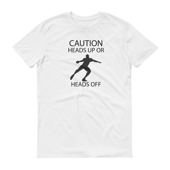 Heads Up or Heads Off Tee - Throws Chat - Product