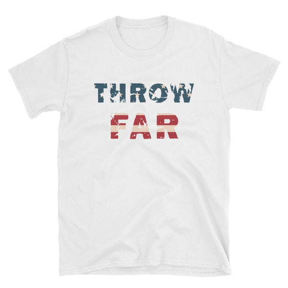Throw Far Flag Tee - Throws Chat -
