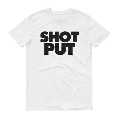 Shot Put Tee - Throws Chat - Product