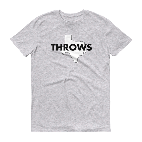 Texas Throws Tee - Throws Chat - Product