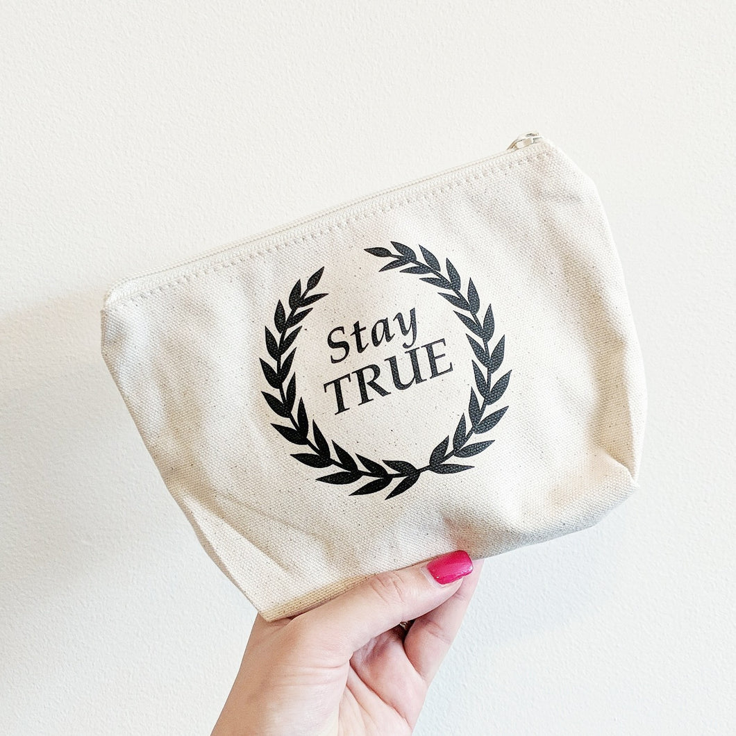 Stay True Cosmetic Bag