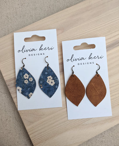 More Assorted Fall Earrings!