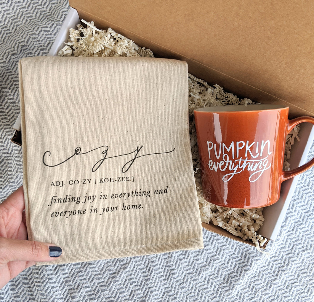 "Fall ""Cozy"" Gift Box"