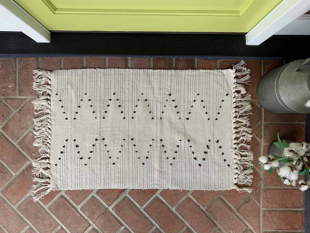 Boho Dots Accent Rug