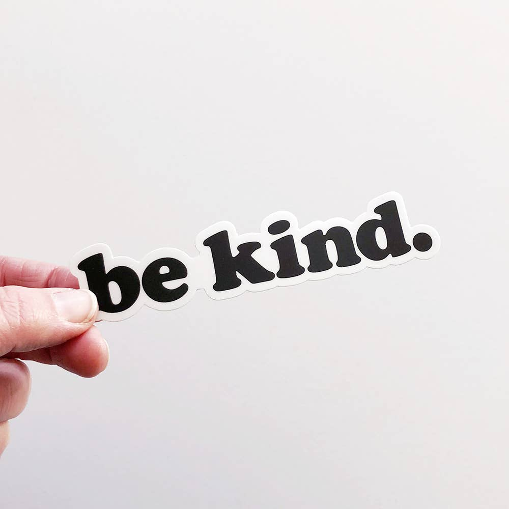 """Be Kind"" Matte Sticker"