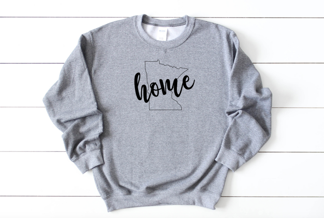 Minnesota Home Crew Neck Sweatshirt