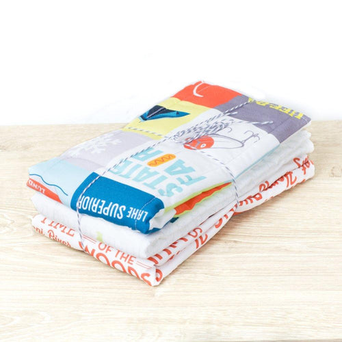 Minnesota Burp Cloth Set