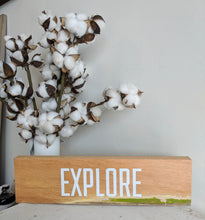 """Explore"" Wall Sign"