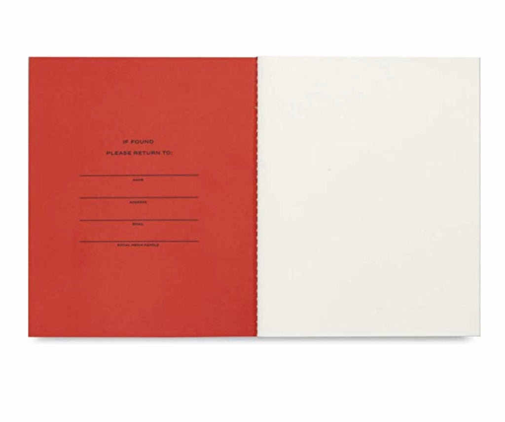 Classic Journal - Red/Pink