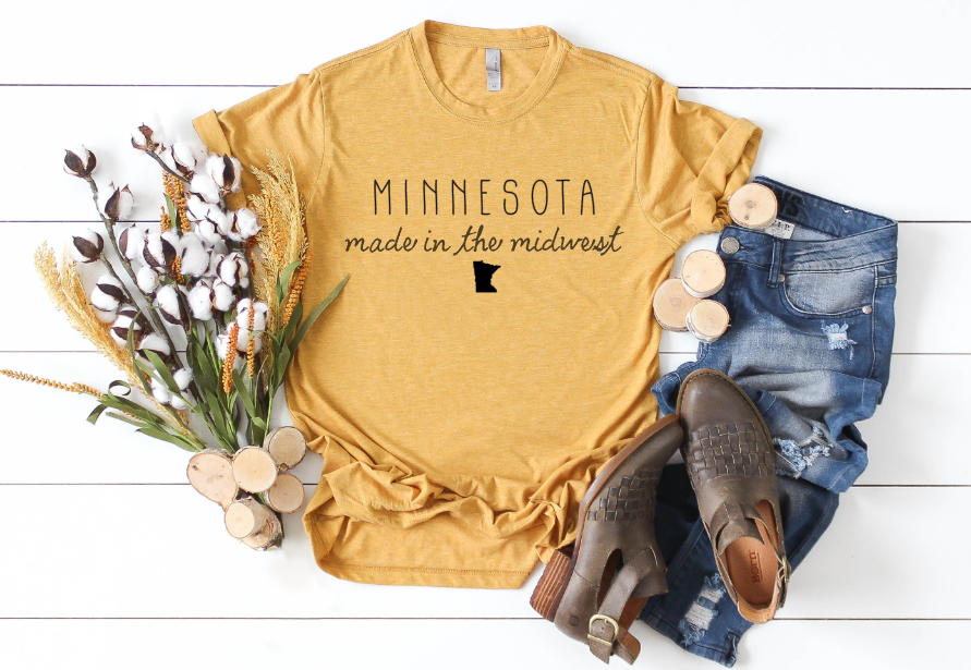 Minnesota, Made in the Midwest Tee