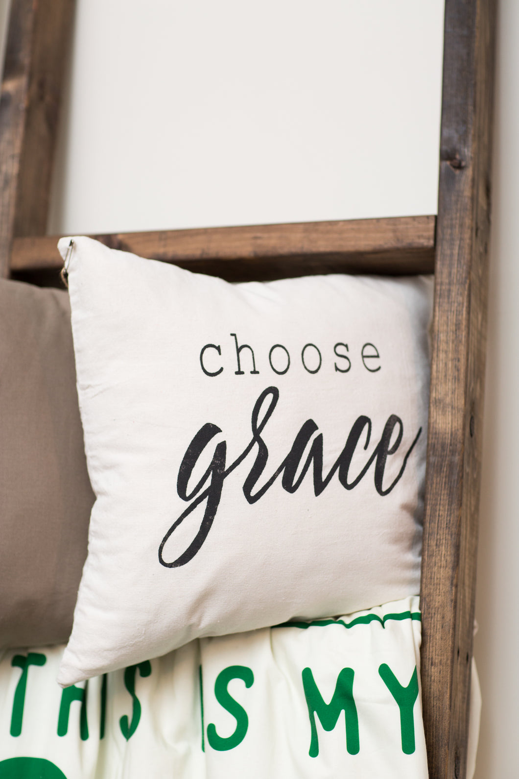 Choose Grace Pillow