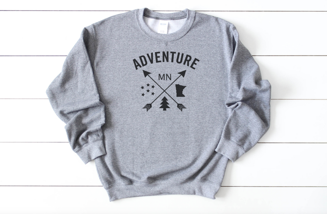Minnesota Adventure Crew Neck Sweatshirt