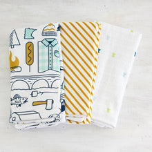 Minnesota Illustration Burp Cloth Set