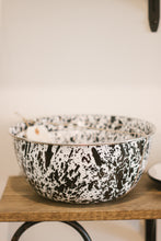 Mixing Bowl Black Marble Set Of Three
