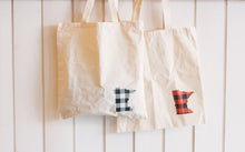 Minnesota Plaid Tote