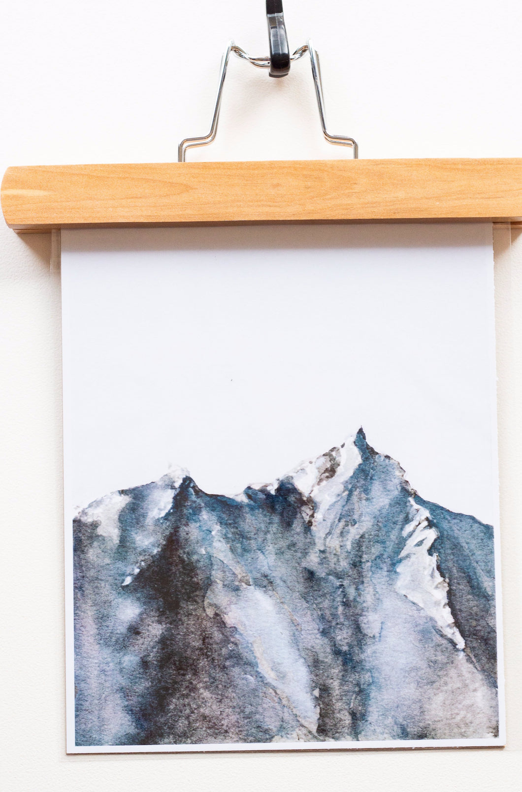 Minimalist Mountain Print