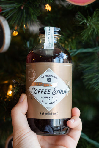 Cold Brew Coffee Syrup