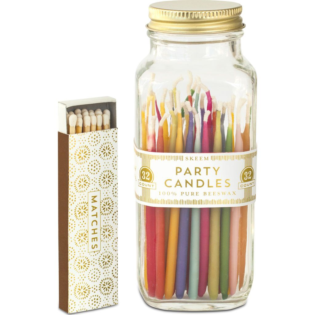 Party Candle Match Bottle