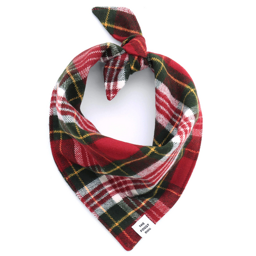 Tartan Plaid Flannel Dog Bandana