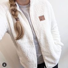 Sherpa Jacket White