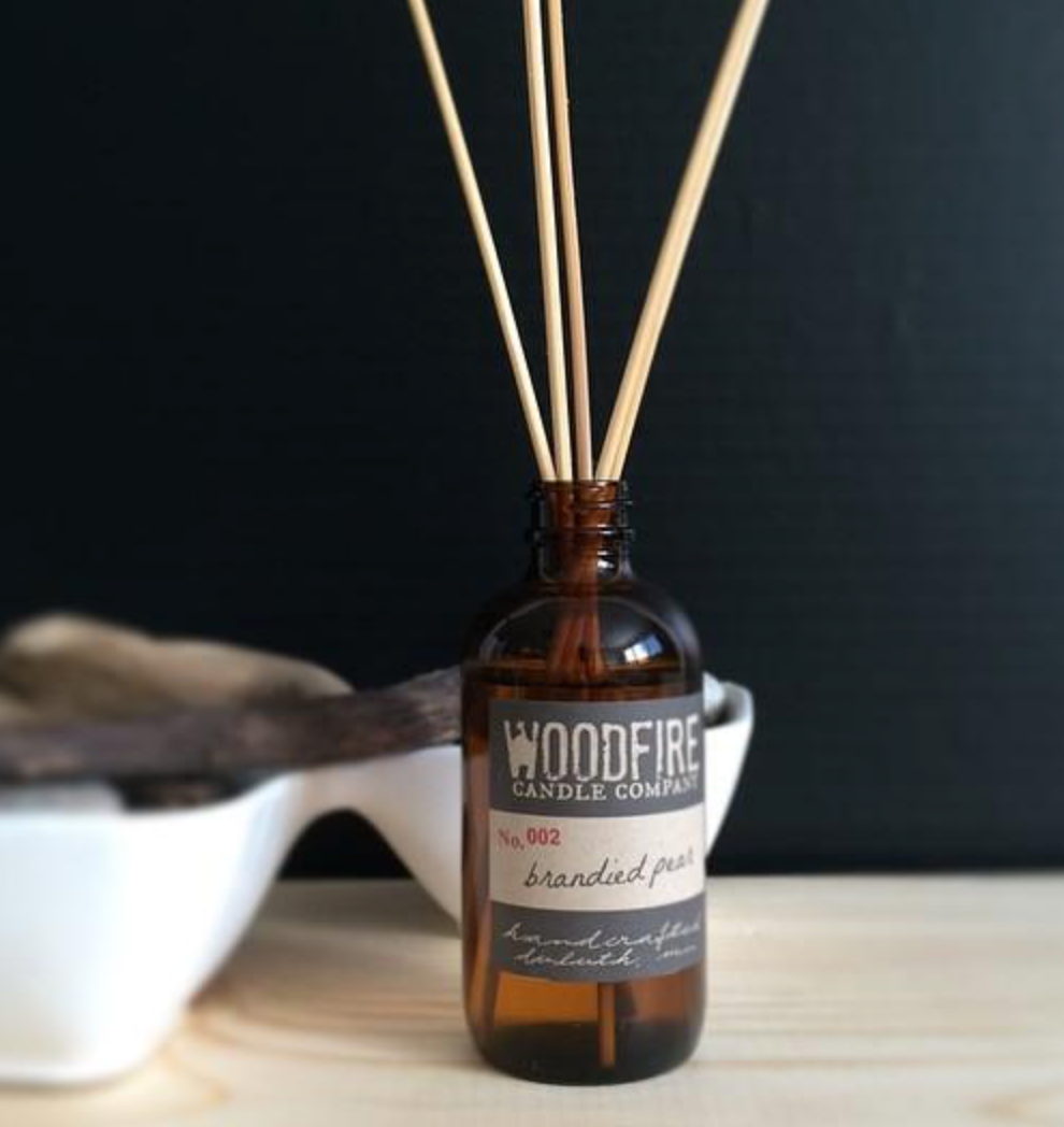 Woodfire Amber Reed Diffusers