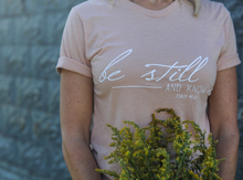 "Six Notes Clothing ""Be Still"" Tee"