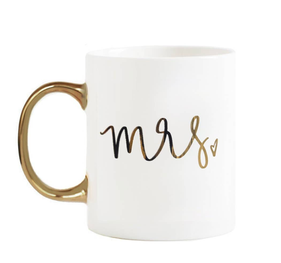 White Mrs. Coffee Mug