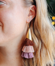 Roulette Tassel Earrings