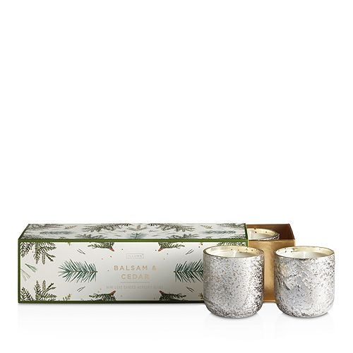 Balsam & Cedar 3 Mini Votive Candle Set