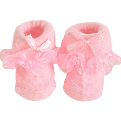 Toddlers Infants Bow Socks  Princess Bowknots Socks for 0-6 Months