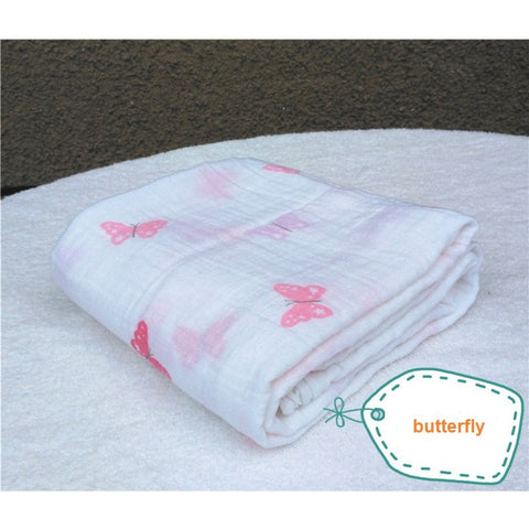 Cotton Baby Bath Towel Swaddle Blanket