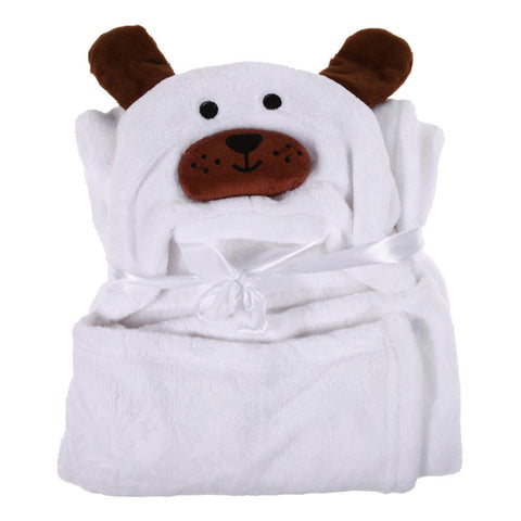 Baby Bathrobe  Cute Animal Panda Flannel Cartoon Baby Kid's Hooded Bath Towel Toddler Blankets 6 Animals with Hook for Optional
