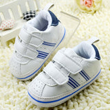 White Boy Girl Unisex Baby Shoes Toddler Prewalker Anti-Slip Shoe  Soft Baby Shoe