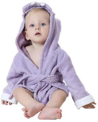 Lovely Baby Bath Towel Hooded Bathrobe