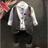 roupas infantis menino 2015 toddler kids clothes Children boy jacket+t shirt+Denim jean pants 3pcs clothing sets outfits DY029A