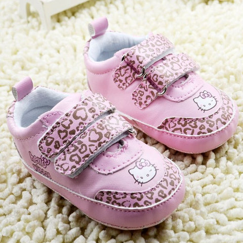 cute cartoon hello kitty baby shoes girls shoes breathable baby first walkers toddler shoes girls prewalkers