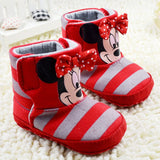 Cute cartoon baby shoes baby girl shoes lovely bow-knot infant shoes girls comfortable toddler shoes baby